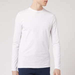Emporio Armani Men's Long Sleeve T-Shirt - White