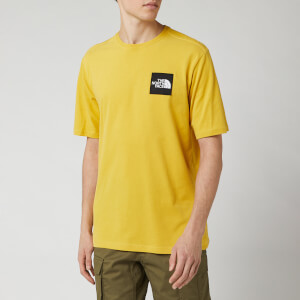 The North Face Men's Masters of Stone T-Shirt - Bamboo Yellow