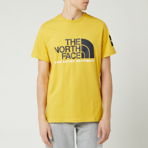The North Face Men's Fine Alpine 2 T-Shirt - Bamboo Yellow