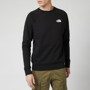 The North Face Men's Raglan Redbox Crew Neck Sweatshirt - TNF Black