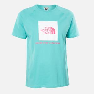 The North Face Men's Raglan Redbox T-Shirt - Lagoon