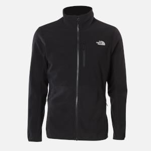 The North Face Men's Glacier Pro Full Zip Fleece Jumper - TNF Black