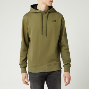 The North Face Men's Drew Peak Light Pullover Hoody - Burnt Olive Green