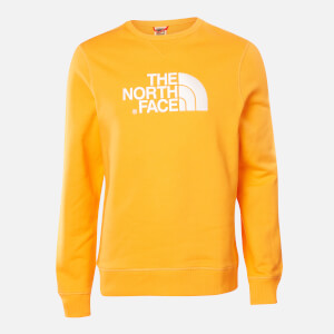 The North Face Men's Drew Peak Crew Neck Sweatshirt - Flame Orange