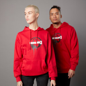 Borderlands 3 Vault 1 Unisex Hoodie - Red