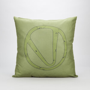 Borderlands 3 Green Vault Square Cushion