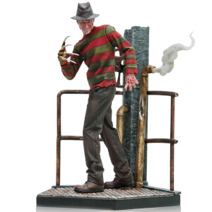 Iron Studios Nightmare on Elm Street Art Scale Statue 1/10 Freddy Krueger Deluxe 19 cm