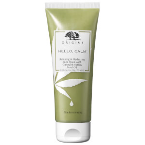 Origins Hello, Calm Relaxing and Hydrating Face Mask with Cannabis Sativa Seed Oil 75ml