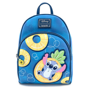Loungefly Disney Lilo And Stitch Pinneapple Floaty Stitch Mini Backpack