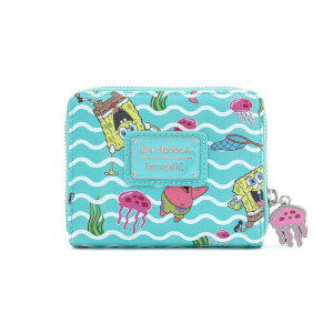 Loungefly Spongebob Squarepants Jelly Fishing Wallet