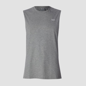 MP Essentials Drop Armhole Tank - Grey Marl