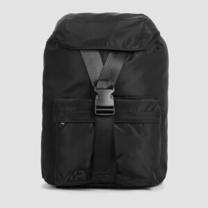 MP High Shine Backpack - Musta