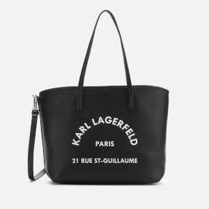 Karl Lagerfeld Women's Rue St Guillaume Tote Bag - Black