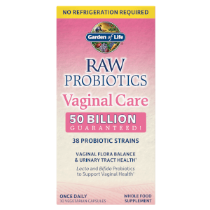 Raw Microbiome Vaginal Care Shelf - 30 Capsules