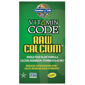 Vitamin Code Raw Calcium - 60 Capsules