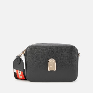 Furla Women's Sleek Mini Cross Body Bag - Black