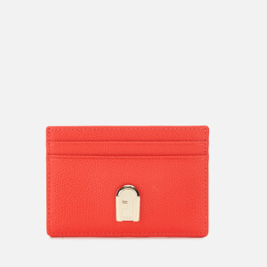 Furla Women's 1927 Small Credit Card Case - Red
