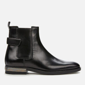 Balmain Men's Pete Leather Boots - Noir