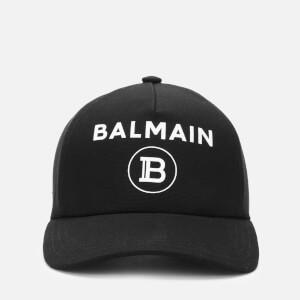 Balmain Men's Logo Cap - Noir