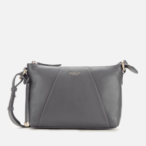 Radley Women's Wood Street Medium Zip Top Cross Body Bag - Dark Grey