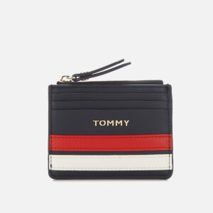 Tommy Hilfiger Women's Tommy Staple Credit Card Holder - Sky Captain