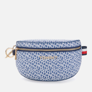 Tommy Hilfiger Women's Iconic Tommy Bumbag Monogram - Blue Ink