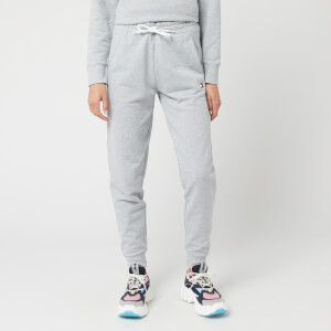 Tommy Sport Women's Cuff Fleece Tape Pants - Grey Heather