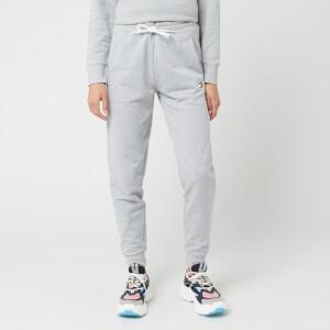 Tommy Sport Women's Cuff Fleece Tape Pants - Grey Heather