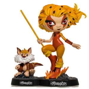 Iron Studios Thundercats Mini Co. PVC Figure Cheetara & Snarf 13 cm