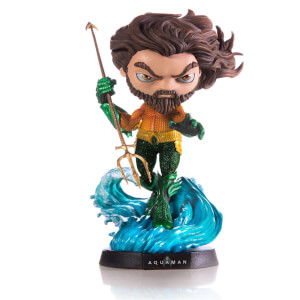Iron Studios DC Comics Aquaman Mini Co. Deluxe PVC Figure Aquaman 19 cm
