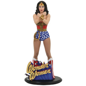 Diamond Select DC Gallery Linda Carter Wonder Woman PVC Statue