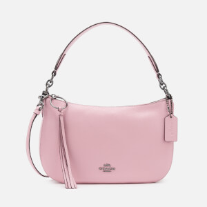 Coach Women's Polished Pebble Leather Sutton Cross Body Bag - Aurora