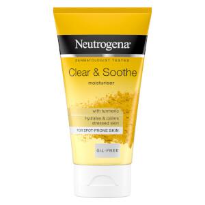 Neutrogena Clear & Soothe Turmeric Moisturiser