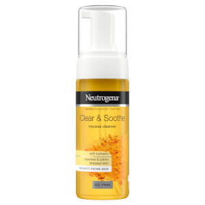 Neutrogena Clear & Soothe Turmeric Mousse Cleanser