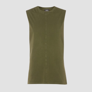 MP Raw Training Tank mit weitem Armausschnitt - Army Green
