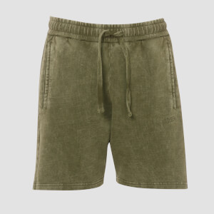 MP Men's Raw Training Shorts - Army Green