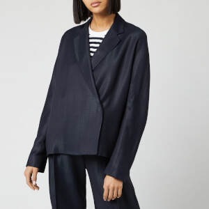Victoria, Victoria Beckham Women's Soft Jacket - Midnight Blue
