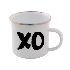 The Motivated Type XO Enamel Mug