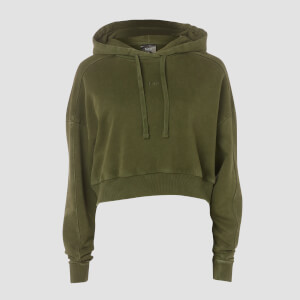 MP Women's Raw Training Oversized Hoodie - Army Green