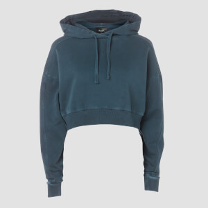 Raw Training Oversized Hoodie - Ink