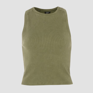 Camiseta de Tirantes Raw Training - Army Green