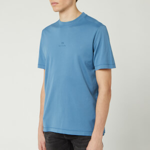 PS Paul Smith Men's Centre Logo T-Shirt - Turquoise