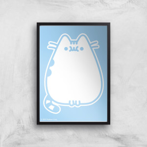 Pusheen Hey Giclee Art Print