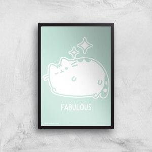 Pusheen Fabulous Giclee Art Print