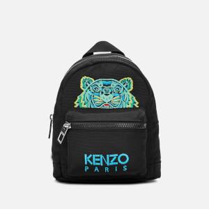KENZO Men's Mini Tiger Canvas Backpack - Black