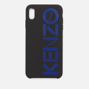 KENZO Men's Logo iPhone X Max Case - Blue