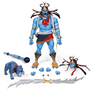Super7 ThunderCats Ultimates Mumm-Ra with Ma-Mutt 7-Inch Deluxe Action Figure Set