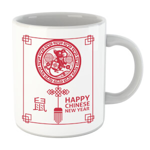 Happy Chinese New Year Red Mug