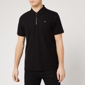 Ted Baker Men's Dodgem Zip Polo Shirt - Black