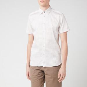 Ted Baker Men's Sortit Geo Print Shirt - White